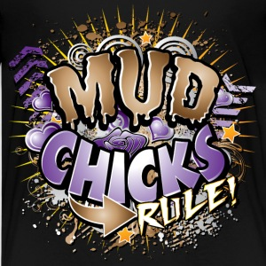 Mud Chicks Rule Kids' Shirts - Kids' Premium T-Shirt
