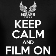 Design ~ Keep Calm and Film On Men's T-Shirt