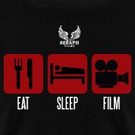 Design ~ Eat Sleep Film Men's T-Shirt