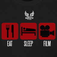 Design ~ Eat Sleep Film Woman's Shirt