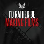 Design ~ I'd Rather Be Making Films Men's T-Shirt