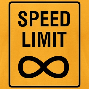 Speed Limit - Unendlich / Funny / Car Tuning T-Shirts - Men's T-Shirt by American Apparel