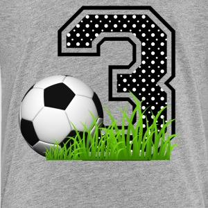3th_birthday_soccer Kids' Shirts - Kids' Premium T-Shirt