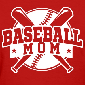 baseball_mom Women's T-Shirts - Women's T-Shirt