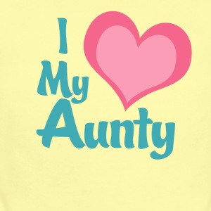 i_love_my_aunty Baby & Toddler Shirts - Baby Short Sleeve One Piece