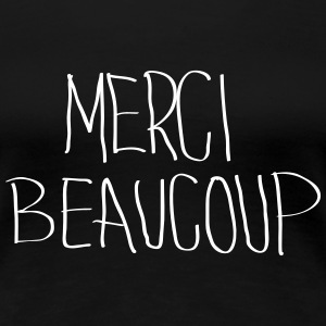 Merci Beaucoup Women's T-Shirts - Women's Premium T-Shirt
