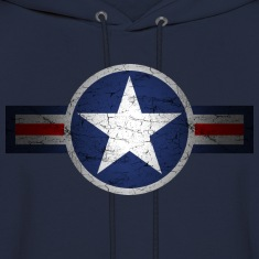 Vintage Army Air Corps Patriotic Star