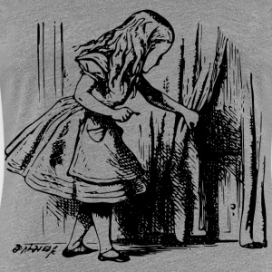 Alice In Wonderland key - Women's Premium T-Shirt