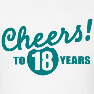 18 Birthday T-Shirts - Men's T-Shirt