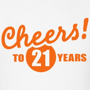 21 Birthday T-Shirts - Men's T-Shirt