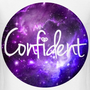 Confident Original Galaxy T-Shirts - Men's T-Shirt