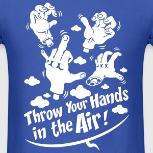 Throw your hands - Men's T-Shirt