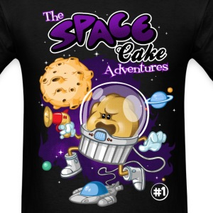 Space cake adventures - Men's T-Shirt