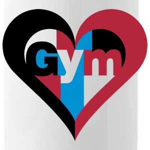 Gym Heart Bottles & Mugs - Water Bottle