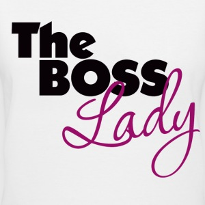 The Boss Lady - Women's V-Neck T-Shirt