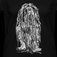 Design ~ The Mane (White) - Ladies