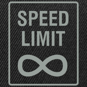 Speed Limit - Unendlich / Funny / Car Tuning Caps - Snap-back Baseball Cap