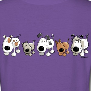 Funny Dogs - Dog - Doggy Women's T-Shirts - Women's V-Neck T-Shirt