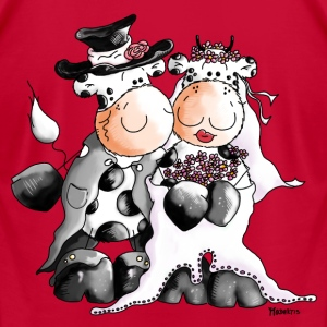 Cow Wedding - Bride - Groom T-Shirts - Men's T-Shirt by American Apparel