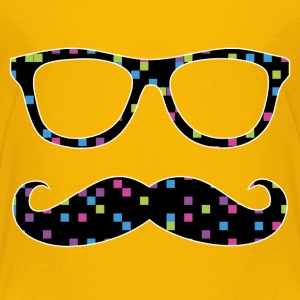glasses and mustache Baby & Toddler Shirts - Toddler Premium T-Shirt