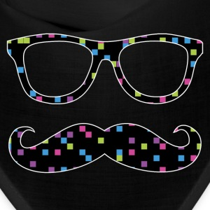 glasses and mustache Caps - Bandana