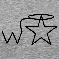Design ~ Men's 3X-4X Black Logo Wranglerstar