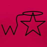 Design ~ Women's Black Logo Trecento Wranglerstar