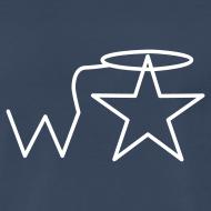 Design ~ Men's 3X-4X White Logo Wranglerstar