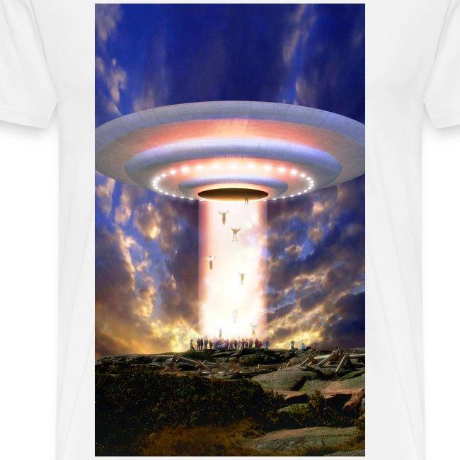 UFO beamup