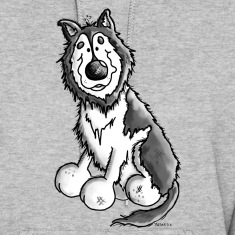 Husky - Malamute - Dog - Dogs Hoodies