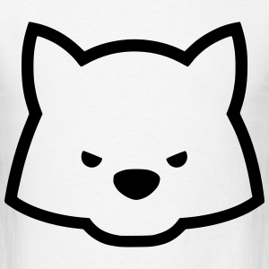 Kawaii Wolf T-Shirts - Men's T-Shirt