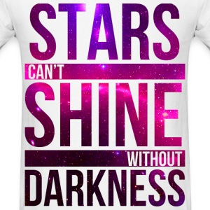 Stars Shine Galaxy T-Shirts - Men's T-Shirt