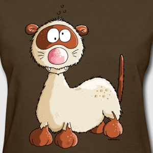 Freddy Ferret - Cartoon Women's T-Shirts - Women's T-Shirt