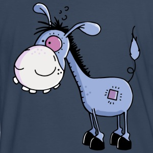 Funny Little Donkey - Donkeys T-Shirts - Men's Premium T-Shirt