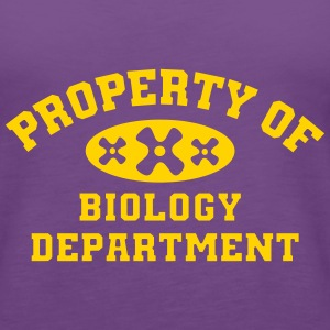 Property Of Biology Department - Women's Premium Tank Top