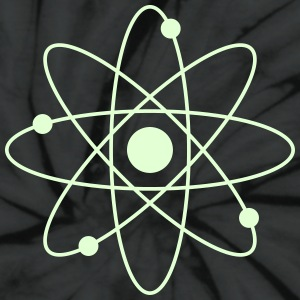 Atomic (glow-in-dark) - Unisex Tie Dye T-Shirt