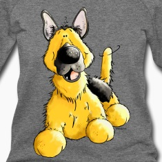 Happy German Shepherd Dog - Dogs Long Sleeve Shirts