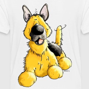 Happy German Shepherd Dog - Dogs Baby & Toddler Shirts - Toddler Premium T-Shirt