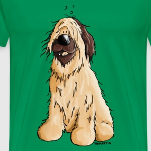 Briard Sheepdog - Dog - Dogs  T-Shirts - Men's Premium T-Shirt