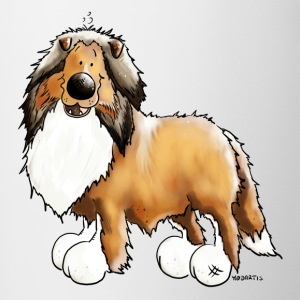Knuffiger Collie - Rough Collie Bottles & Mugs - Contrast Coffee Mug