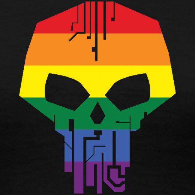 Black Ice LGBT Pride T-Shirt - Women's