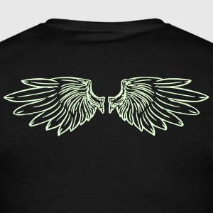 Wings Glow-in-the-Dark - Men's T-Shirt