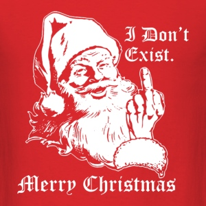 I Don't Exist Merry Christmas - Men's T-Shirt