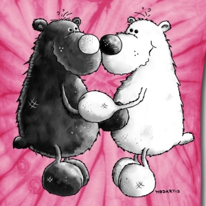 Best Friends - Bear - Bears T-Shirts - Unisex Tie Dye T-Shirt