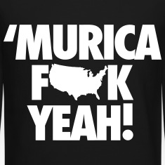 Murica Fuck Yeah! Long Sleeve Shirts