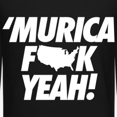 Merica Fuck Yeah! Long Sleeve Shirts