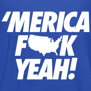 Merica Fuck Yeah! Tanks - Women's Flowy Tank Top by Bella