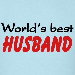 Worlds best Husband T-Shirts - Men's T-Shirt