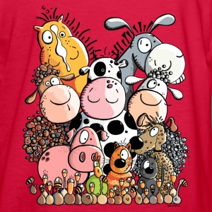 Funny Farm Animals Kids' Shirts - Kids' Long Sleeve T-Shirt