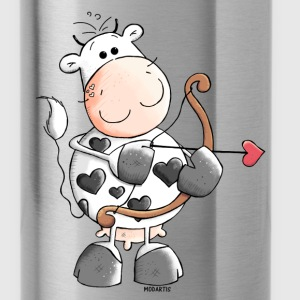 Love Cow - Cows - Heart Bottles & Mugs - Water Bottle